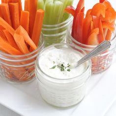 Parmesan Ranch Salad Dressing - no packet