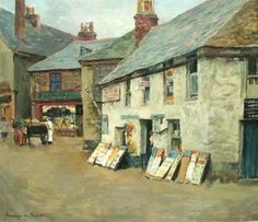 Stanhope A Forbes, 'The Old Post Office', oil on canvas