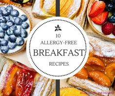 10 allergy-free breakfasts recipes