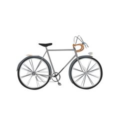 vector-illustrated bike by Amanda Ricci