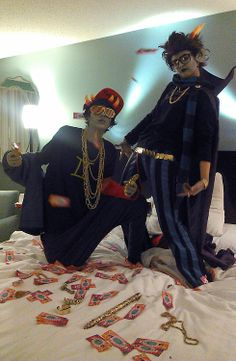 Sollux and Eridan cosplay
