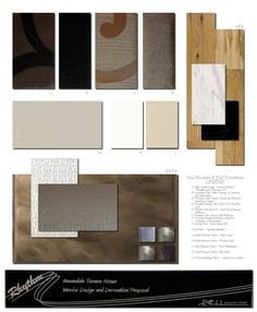 Interior Design Presentation Boards Examples