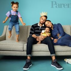 Stephen and Ayesha Curry Talk Parenthood and Their Adorable Pre-Game Ritual Stephen Curry Wife, Stephen Curry Family, The Curry Family, Ayesha Curry, Ryan Curry, Wardell Stephen Curry, Splash Brothers, Love And Basketball, Couple