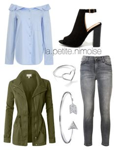 """Tenue Clélia"" by latiteislandaise on Polyvore featuring TIBI, Current/Elliott, LE3NO, Bamboo, Bling Jewelry et Jordan Askill"