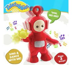Buy Teletubbies Dancing Po Plush at Argos.co.uk, visit Argos.co.uk to shop online for Soft toys, Baby and pre-school toys, Toys
