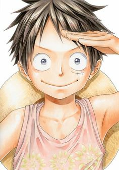 Luffy one piece, sparkling eyes, traditional media One Piece Manga, One Piece Ace, One Piece Drawing, One Piece World, One Piece Fanart, One Piece Luffy, Anime Chibi, Anime One, Manga Anime