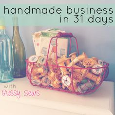 {Handmade Business in 31 Days — Day 28, How to creatively package an order.} I love receiving creative packages, so I package my orders creatively. I wrap everything in bubble wrap, then colorful tissue paper, include a handwritten note on the back of my handmade business card, put everything in a plain envelope, then embellish it with washi tape.