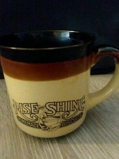 Collectibles Other Restaurant Ads Set Of 2 Hardee S Rise Shine Homemade Biscuits Ceramic Coffee Cups Mugs 1989