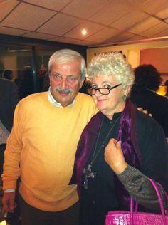 Paola Meneghetti con Tiziano Crudeli