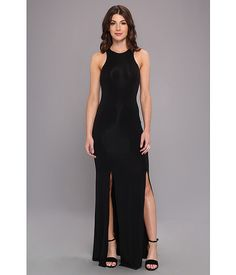 Mara Hoffman High Slit Maxi Dress Black - Zappos.com Free Shipping BOTH Ways