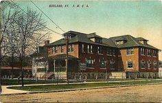 Ashland Kentucky KY 1908 Y M C A Building Collectible Antique Vintage Postcard Ashland Kentucky Ky 1908 Y. M. C. A. building. Used antique vintage postcard in very good condition with average wear. 29