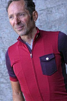 Isadoe Apparel - New Messenger Cycling Jersey Rio Red #cyclingmemories #roadisthewayoflife