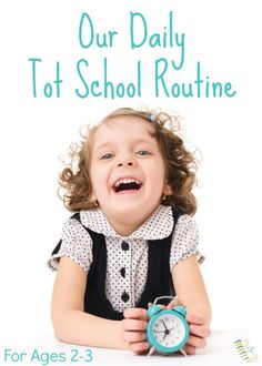 Ideas for setting up you own tot school schedule and routine at home. | www.GoldenReflectionsBlog.com