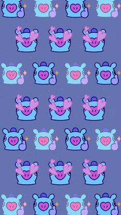Hoseok Bts, Line Friends, Bts Chibi, Bts Lockscreen, I Love Bts, Bts Wallpaper, Wallpaper Backgrounds, Cute Wallpapers, Iphone Wallpapers