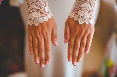 23 Gorgeous Ideas for Your Wedding Day Nails | weddingsonline