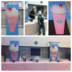 School Sock Hop Dance Soda Shop Root beer and Coke Floats, Twizzlers, Chex mix, candy hearts served (light snacks served)
