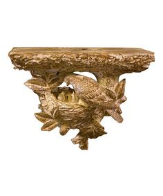 Take a look at this KD Vintage Bird's Nest Shelf by KD Vintage on #zulily today!
