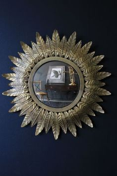 We certainly love our retro styling here at RSG and this stunning Small Gold leaf Sun Convex mirror is a just beautiful Harking back to mirrors from Bathroom Mirror With Shelf, Convex Mirror, Mirror Mirror, Mirror Photo Frames, Rockett St George, Ceiling Art, Best Vibrators, Interior Design Inspiration, Interior Ideas