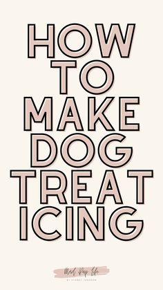 Dog Biscuit Recipes, Dog Treat Recipes, Dog Food Recipes, Homemade Dog Food, Healthy Homemade Dog Treats, Dog Breeds Chart, Dog Breath, Frozen Dog, Dog Bakery