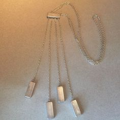"Georg Jensen Sterling Silver Super Rare ""Chime"" Adjustable Necklace No. 120A by Astrid Fog"