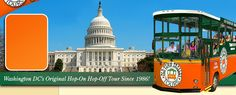Washington DC Tours and Sightseeing by Old Town Trolley Tours  also google tourmobile sightseeng for more options