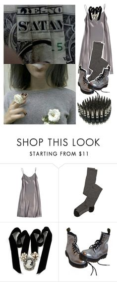 """""""✟Aunt Silver✟"""" by kaninekiller ❤ liked on Polyvore featuring Shelly Steffee, Missoni, Avalaya and Dr. Martens"""