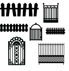 KLDezign SVG: Fences