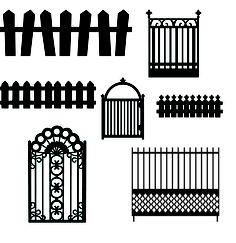 KLDezign SVG: Fences