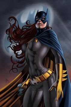Batgirl by Mike Deodotto Jr. (DC comics)