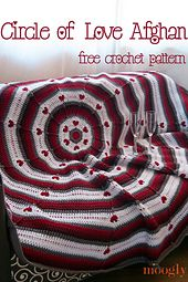 Ravelry: Circle of Love Afghan pattern by Tamara Kelly