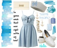 Nellie from South Pacific inspired outfit.