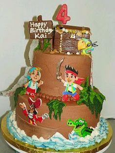 MuyAmeno.com: Tortas de Piratas para Fiestas Infantiles, parte 2