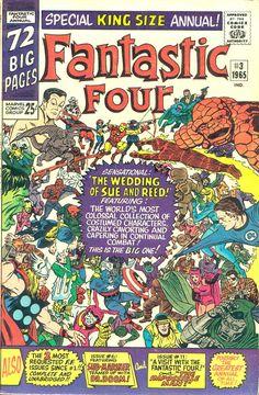 COMIC fantastic four 55 #comic #cover #art