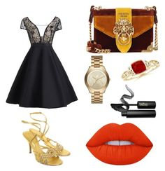 Designer Clothes, Shoes & Bags for Women Sergio Rossi, Lime Crime, Prada, Michael Kors, Shoe Bag, Polyvore, Stuff To Buy, Accessories, Shopping