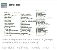 Reasons why i love you list for boyfriend