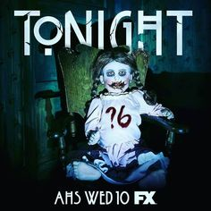 Finally anyone else watching tonight? #Repost @ahsfx  Pull up a chair. The horror begins tonight. #AHS6 #americanhorrorstory #ahsfx