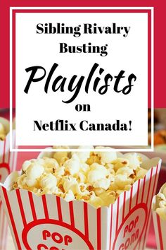 Netflix Playlists to End Sibling Rivalries Over the Remote! Great family friendly television in playlists to make your life easier.