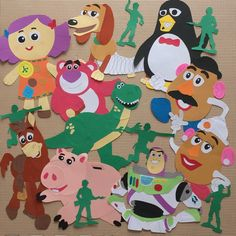 ✂️ #トイストーリー #バズライトイヤー #akeクラフト . 久々に更新❤️ トイストーリーの#壁面飾り をオーダー頂きました(*^^*) お時間かかってしまい すみませんでした💦 バズは初挑戦のポーズ❤️ いつものより好きかも😍💕 .... Toy Story Crafts, Toy Story Theme, Disney Pictures, Classroom Themes, Sleepover, Pixar, Infant, Snoopy, Kids Rugs