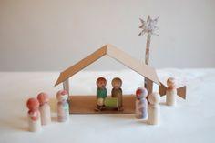 Maak met je kinderen de eigen kerststal