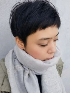 Style girl life hacks 52 new Ideas Asian Short Hair, Asian Hair, Short Hair Cuts, Short Hair Styles, Superkurzer Pixie, Shaggy Pixie Cuts, Hair Reference, My Hairstyle, Pixie Haircut