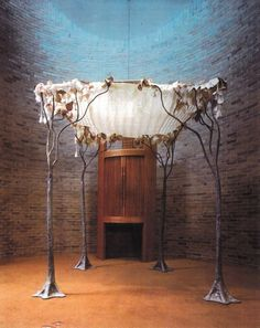 Art Jewish wedding chupah culture-explored