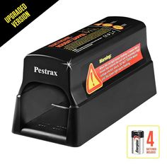 Pestrax Electronic Rodent Trap for Rats, Mice, Squirrels & Humane Safe Exterminating Best Pest Control, Pest Control Services, Electric Rat Trap, Rat Traps, Flea Spray, Mouse Traps, Bees And Wasps, Pest Management, Humming Bird Feeders
