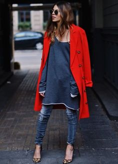 Street Style Roundup: 11 Layering Looks to Try This Fall via Brit + Co.
