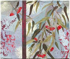 """Ruth de Vos, """"Look Mummy"""" Ruth makes extraordinarily detailed quilts, often featuring Australian foliage or children"""