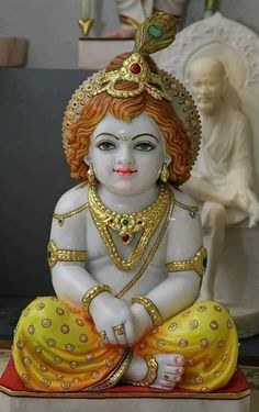 Krishna in beautiful sitting posture 12 inches … Continue reading → Krishna Hindu, Krishna Statue, Cute Krishna, Lord Krishna Images, Radha Krishna Pictures, Radha Krishna Photo, Radhe Krishna, Hanuman, Durga Maa