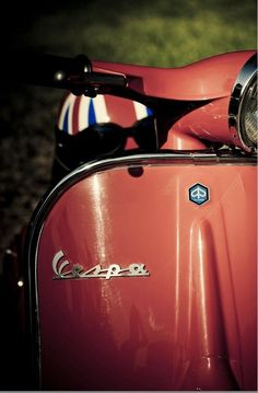 Vespa scooter, we're about to go back to 60's.