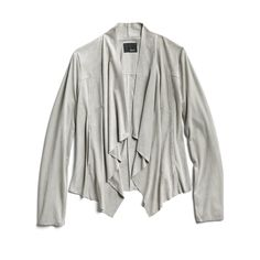 Spring Stylist Picks: Draped suede jacket