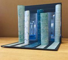 A rug display I designed for a trade show