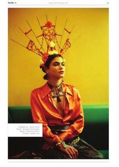 La Reina Mora Shot by Eleni Onasoglou Styling by Danai Simou