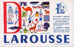 LAROUSSEビュバー(D)/フランスアンティーク雑貨 - ヨーロッパ雑貨プロムナード